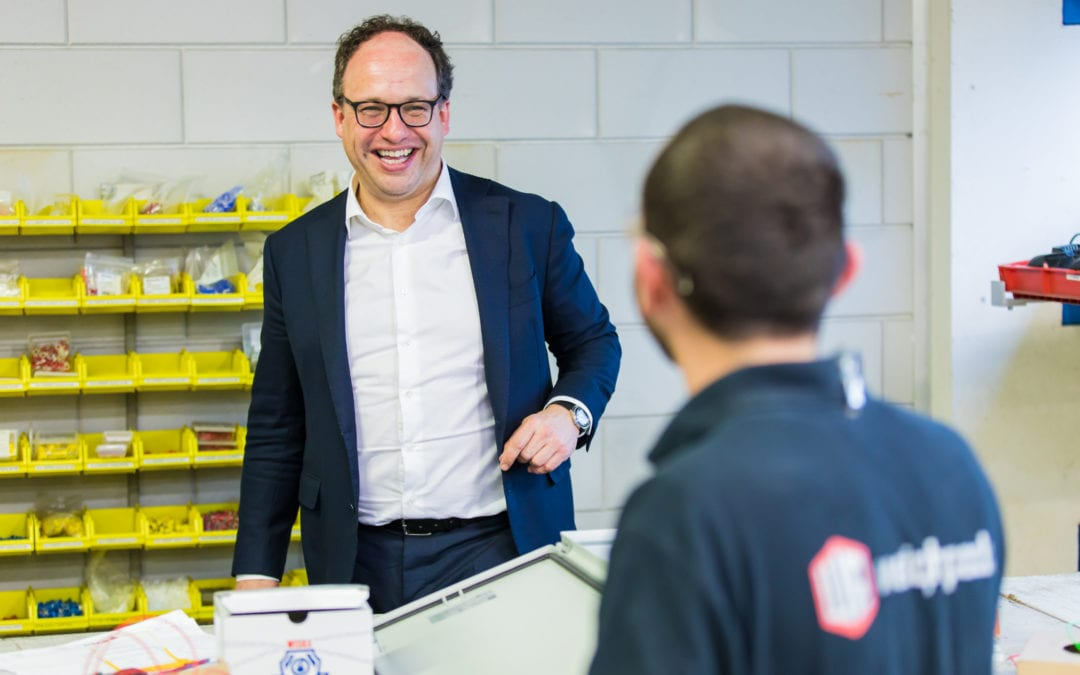 Minister Wouter Koolmees visited Weighpack