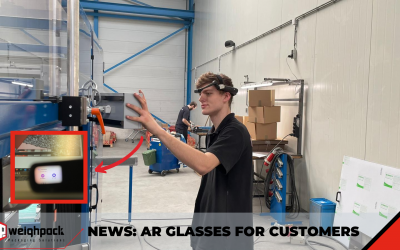 AR glasses to save time and travel for our customers